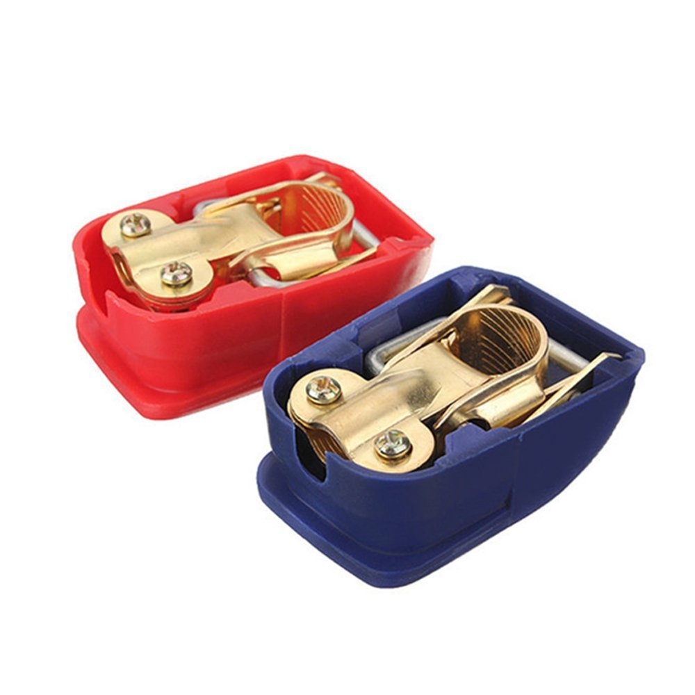 Heavy duty quick release car battery clamps / terminals A901